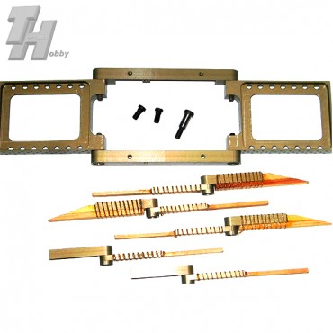 Connector kit fuselage-wing for F2B models