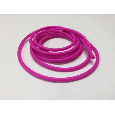 Pink silicone tubing 2,1х4,6